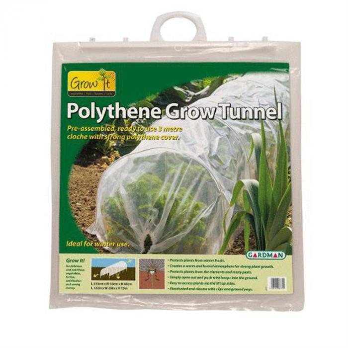 10' L x 1.5' H Poly Grow Tunnel