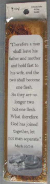 7pk Bookmarks -Therefore a Man Shall Leave...