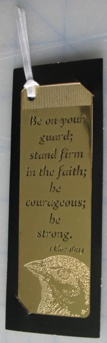 Be On Your Guard Bookmark