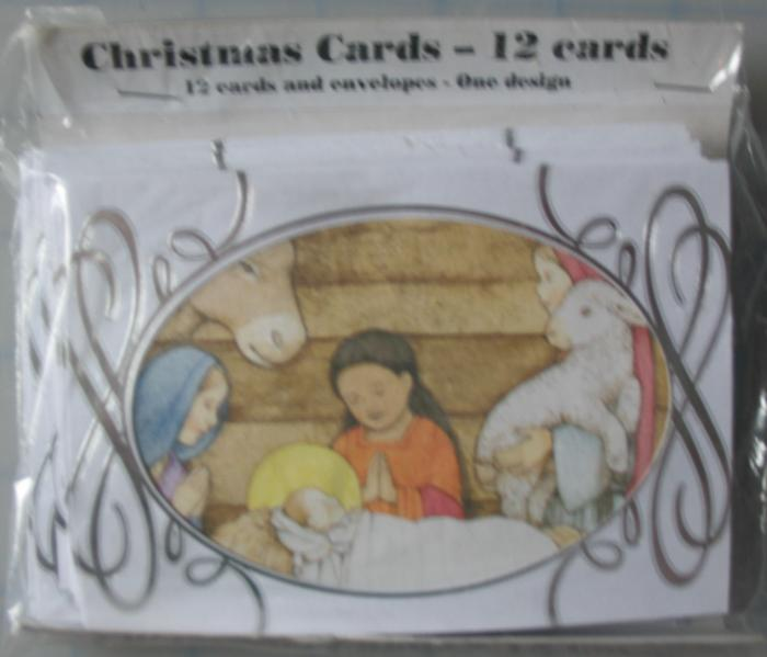 12pk Christmas Note Cards