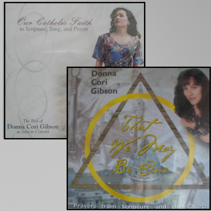 Donna Cori Gibson CDs - The Best of DCG Or That We May Be One