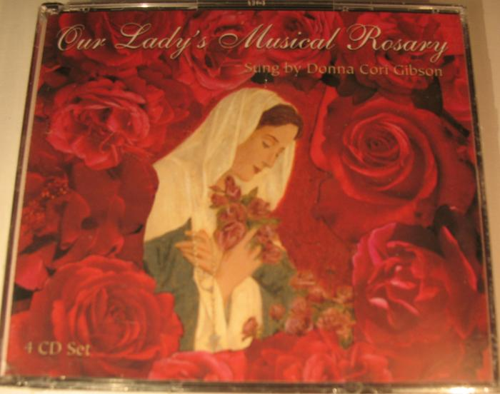 Donna Cori Gibson - Our Lady's Musical Rosary - 4 CD set