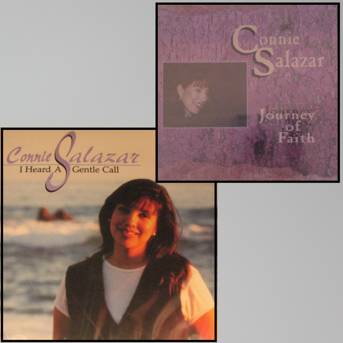 Connie Salazar CDs - I Heard A Gentle Call or Journey of Faith