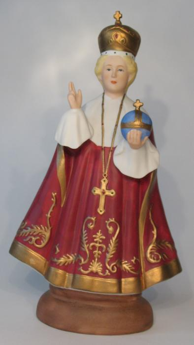 Infant of Prague Statue -  9 inch