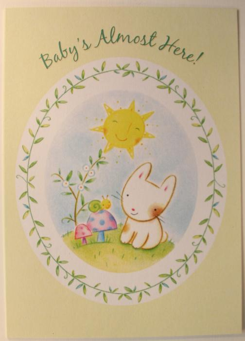 Baby Shower Greeting Card - Value Card