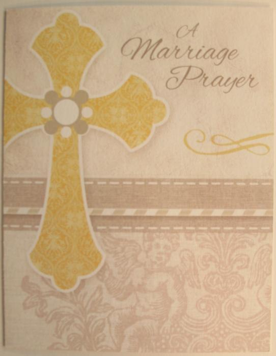 A Marriage Prayer Greeting Card