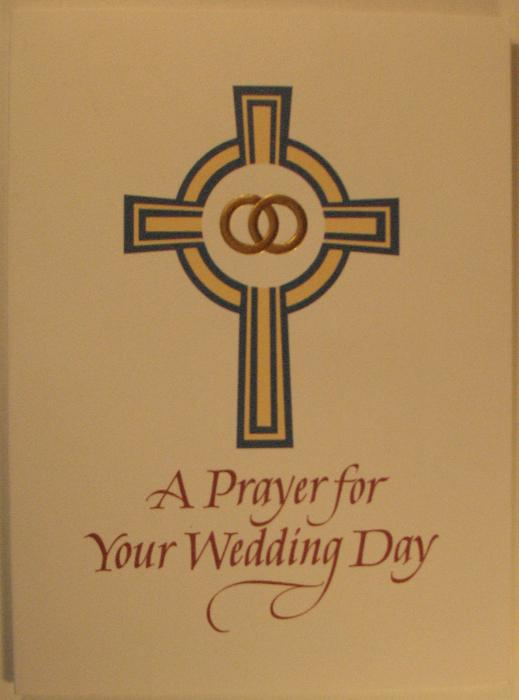 A Prayer for Your Wedding Day Greeting Card