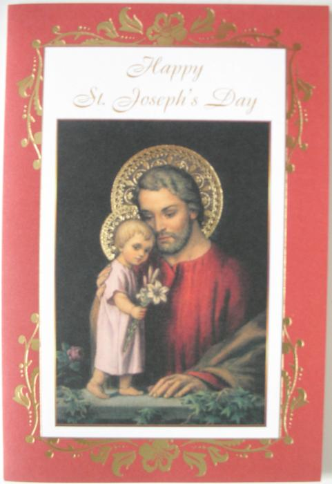 Happy St. Joseph's Day Greeting Card