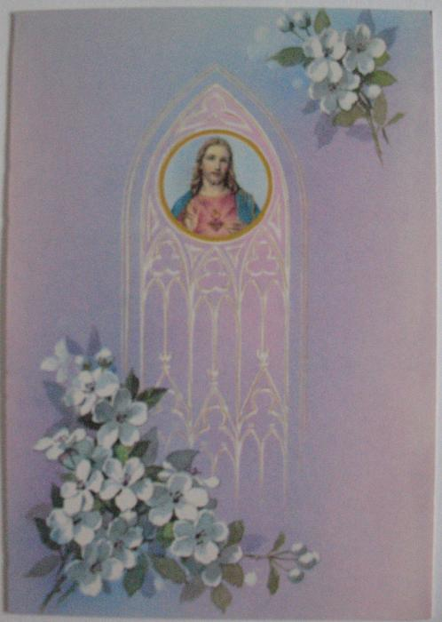 Feast Day ( Sacred Heart) Greeting Card