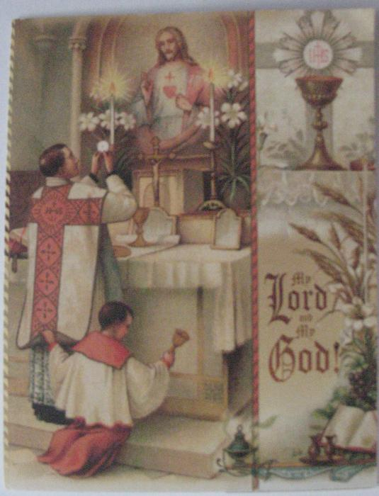Holy Mass ( Vocations) - NoteCard / BookMark Series