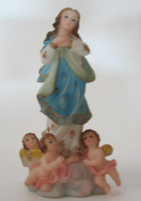 Immaculate Conception Statue - 4 inch