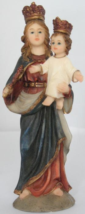 Mary & Jesus - Help of Christians Statue - 5 3/8  inch