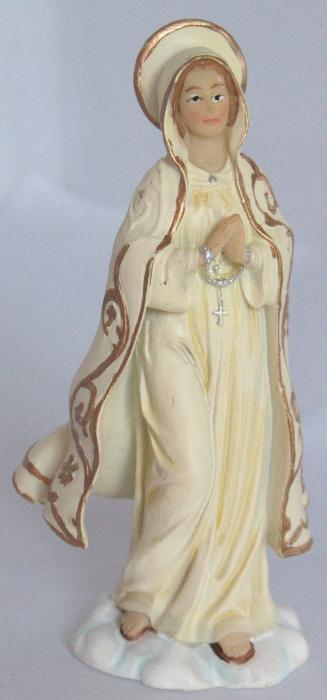 Our Lady of Fatima Statue - 3 7/8 inch