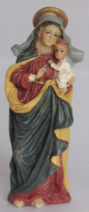 Blessed Virgin Mary Statue - 3 3/8 inch