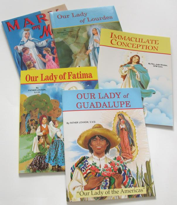 Blessed Virgin Mary - St. Joseph Picture Books Series