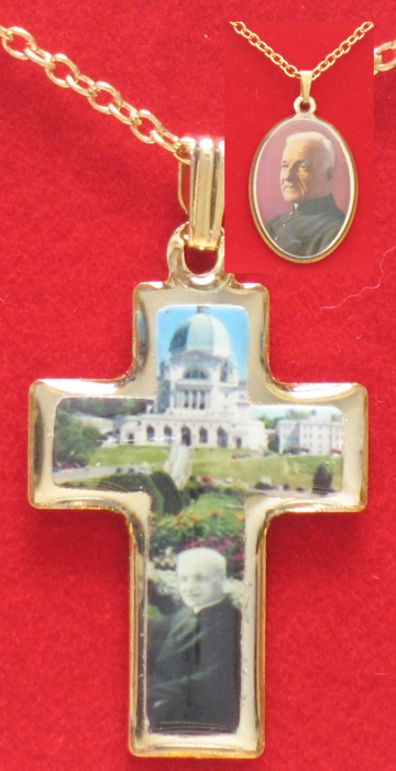 Brother Andre ( Oval )  or St. Joseph Oratory (Cross) Pendant
