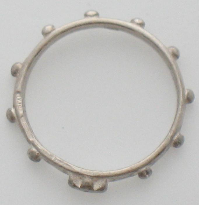 Rosary Ring - Sterling Silver