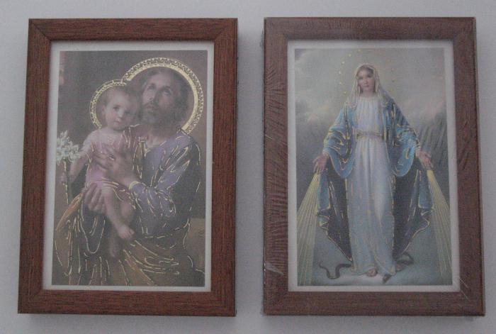 Framed Picture Wall Hanging - Wood