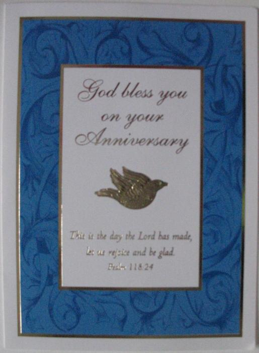 Anniversary Greeting Cards - box of 25 - 1 design