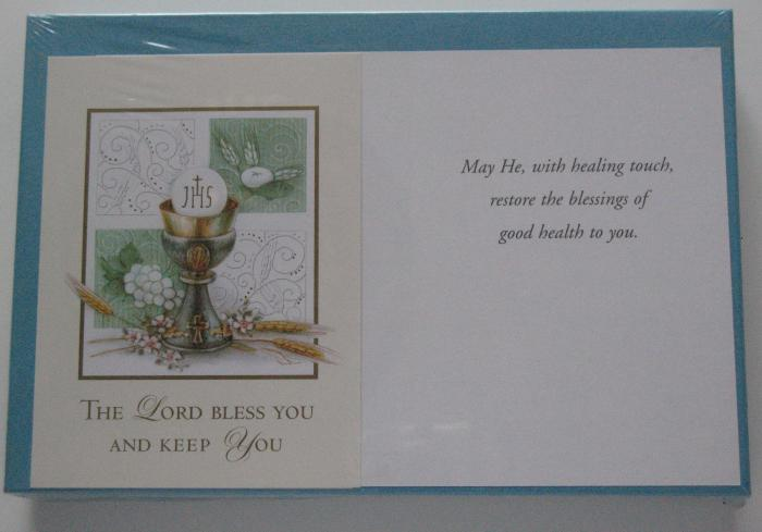Get Well \ Healing  Greeting Cards  - box of 25 - 1 design