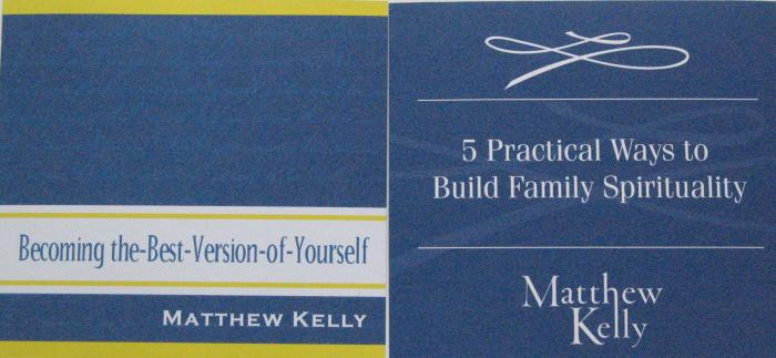 Matthew Kelly CD Audio - Best Version of You or Build Family Spirituality
