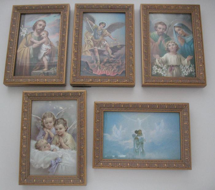 """Fancy Framed Picture 6.5"""" by 4.5"""""""
