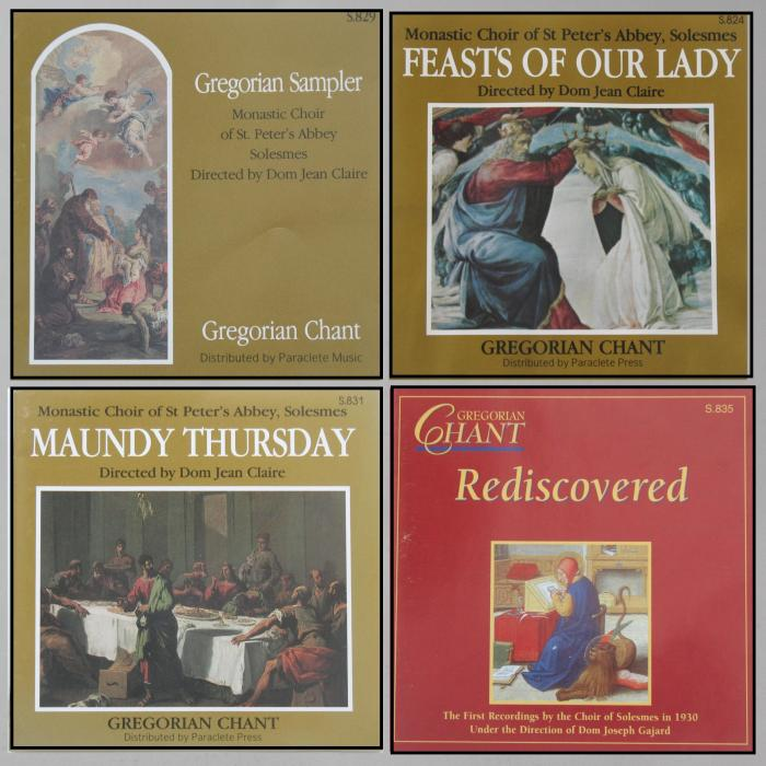 Gregorian Chant  Previously Enjoyed CDs