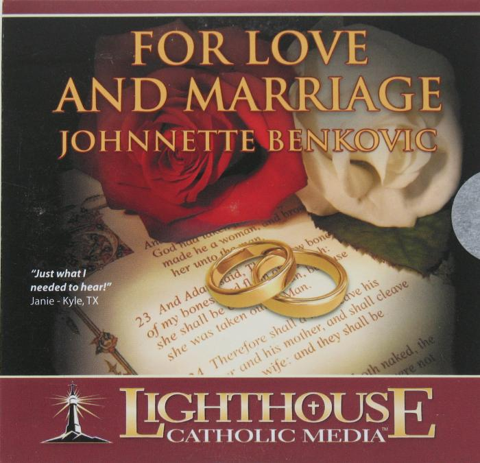 Benkovic, Johnnette - For Love and Marriage