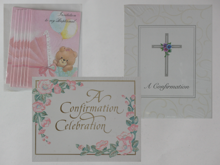 Invitations - package of 8