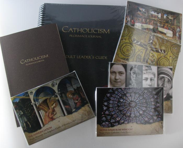 Catholicism Pilgrimage Journal 10 Pack