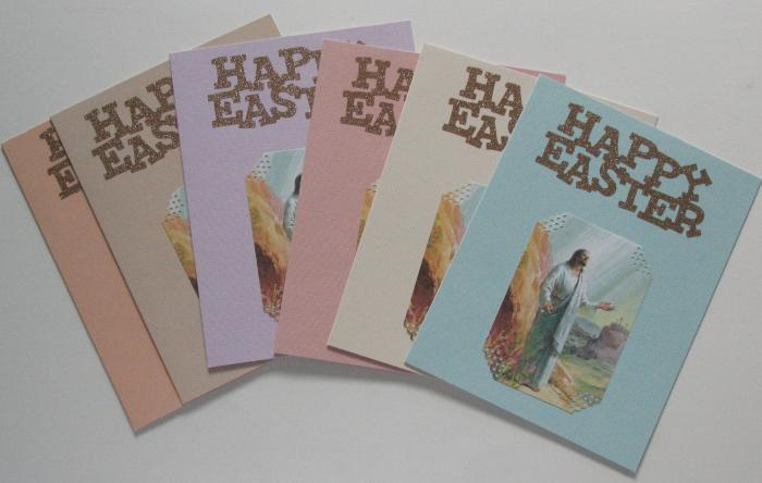 Happy Easter Note Card 6 Pack
