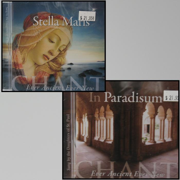 Chant CDs  - In Paradisum or Stella Maris