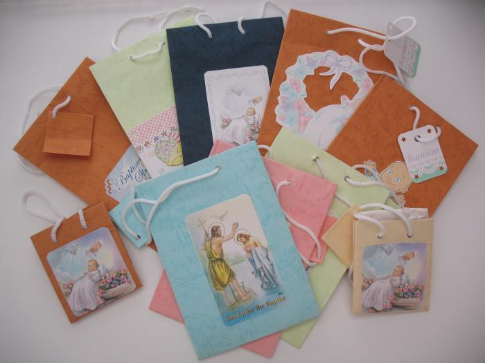 Baptism Gift Bag With Picture