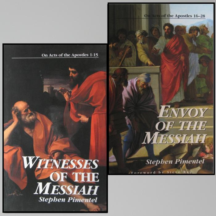 Witnesses/ Envoy of the Messiah : On Acts of the Apostles