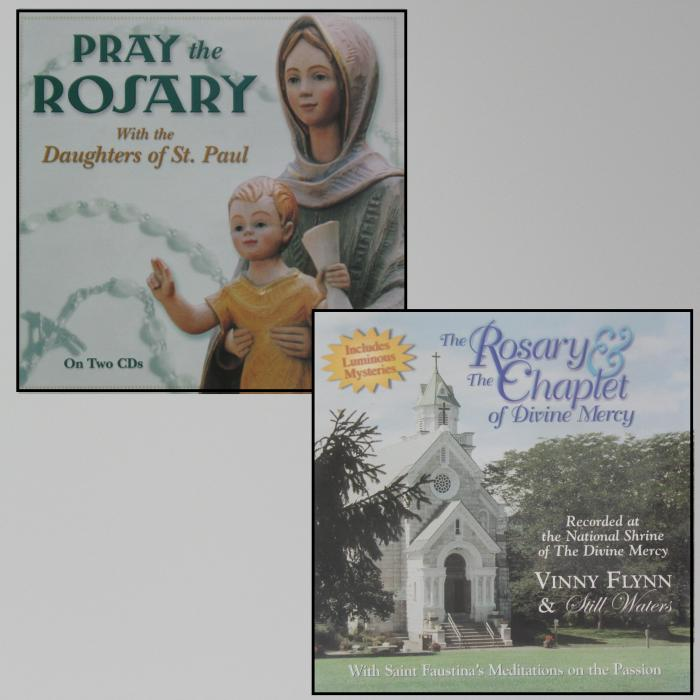 Rosary & Chaplet of Divine Mercy or Pray the Rosary - Previously Enjoyed CDs