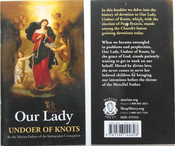 Our Lady Undoer of Knots Booklet
