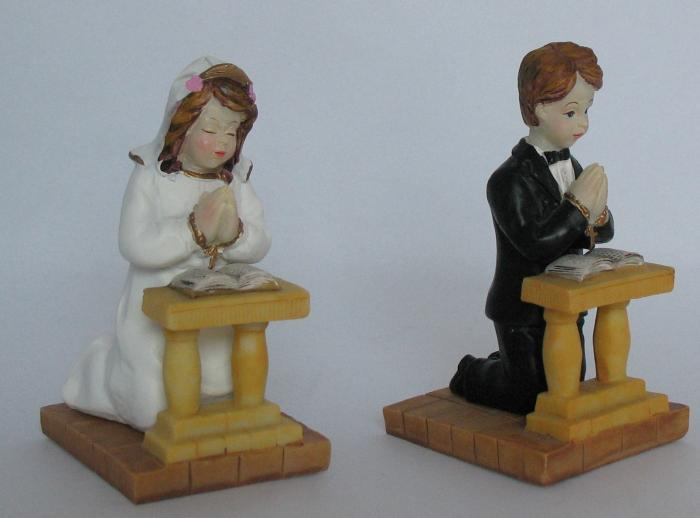 Child Kneeling Figurine