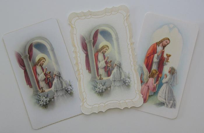 First Communion - Girl Picture Card