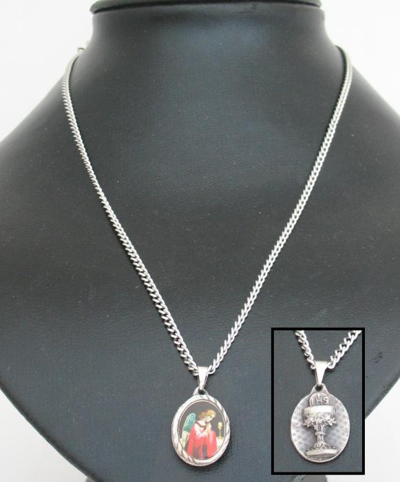 Communion Angel Pendant with Chain