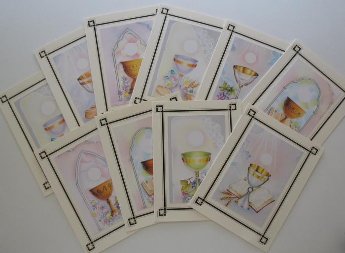 Communion Note Cards - box of 10