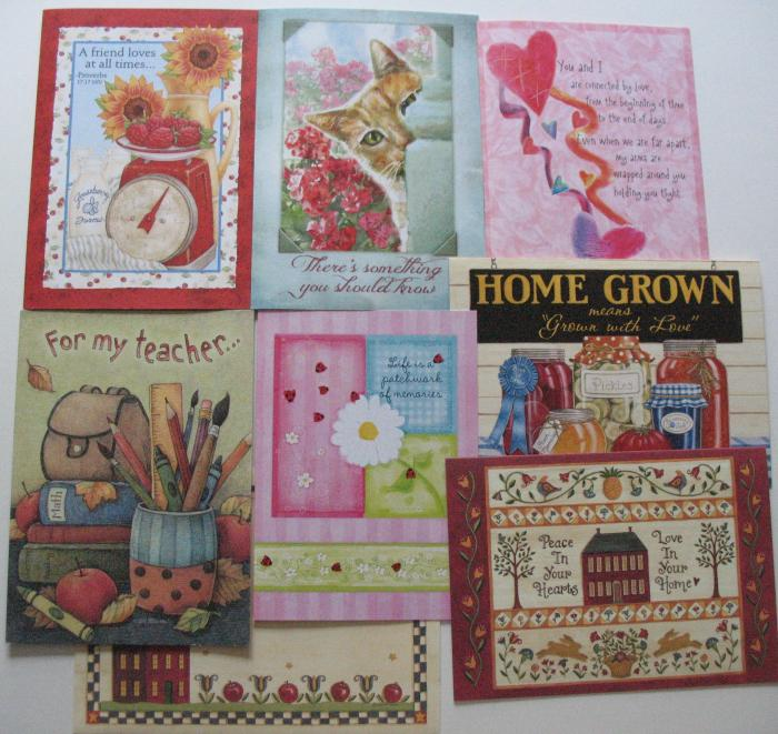 Friendship, Missing You , Teacher - Legacy Greeting Cards