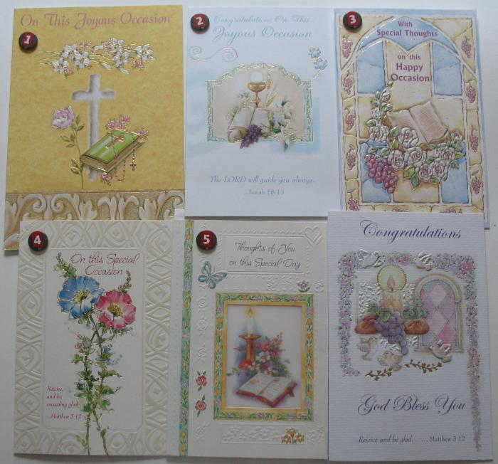 Joyous Occasion / Congratulations Greeting Cards