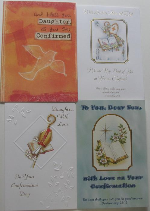 Confirmation - From Parents Greeting Cards
