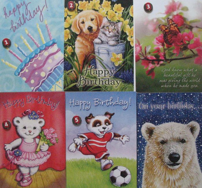 Birthday - Legacy Value Greeting Cards