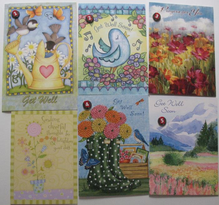 Get Well - Legacy Greeting Cards