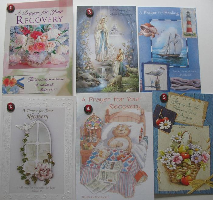 Get Well - Recovery, Healing, Accident Greeting Cards