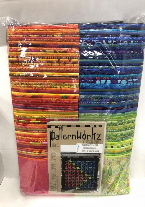 Bladez Brights Medium Quilt Kit