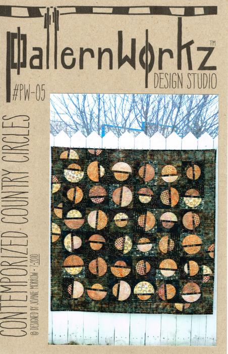 PW-05 Contemporized Country Circles Dark Cover