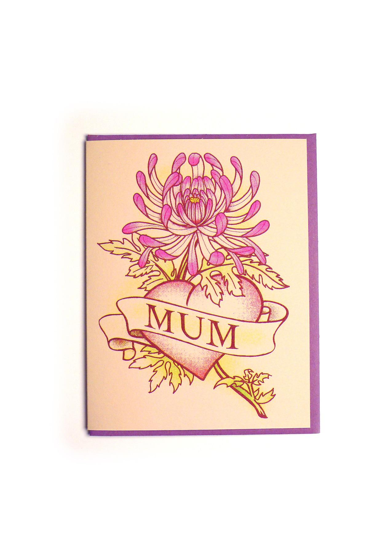 Kid Icarus - MOTHERS DAY - Mum Floral Tattoo