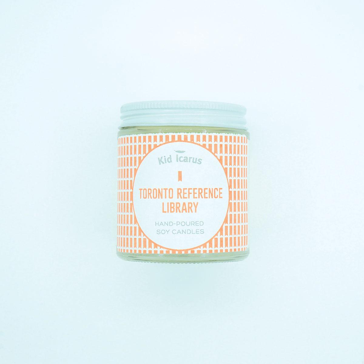 Kid Icarus -CANDLE- Toronto Reference Library Mini (Fresh Scent)